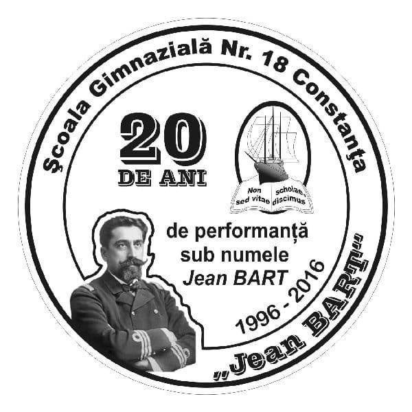 Medalie aniversara Scoala 18 - 2016